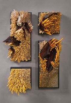 Glass Art Composition by Shayna Leib