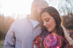 Dreamy engagement photos