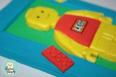 masa solna  posolone pomysły: Dla LEGO fana :)