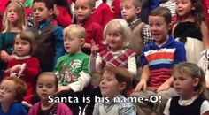 S-A-N-T-A: Adorable girl signs kindergarten holiday concert for deaf parents - TODAY.com