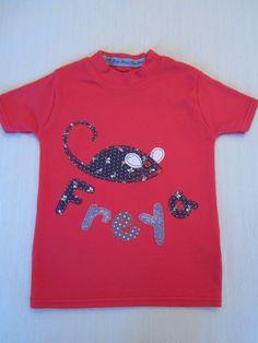Children's personalised name tshirt - customised name t shirt - personalised…