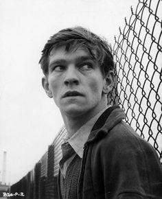 Tom Courtenay in the 1962 film, The Loneliness Of the Long Distance Runner.