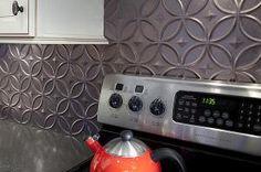 Rental Rehab: 13 Removable DIY Kitchen Backsplashes: Temporary Backsplashes Perfect for Rental