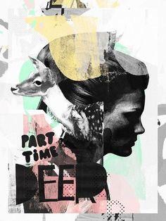 Los collages e ilustraciones de Raphael Vicenzi