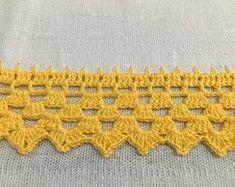 Ideas Baby Crochet Hats Simple For 2 - Diy Crafts Crochet Border Patterns, Crochet Blanket Edging, Crochet Lace Edging, Lace Patterns, Crochet Squares, Crochet Trim, Love Crochet, Crochet Granny, Filet Crochet
