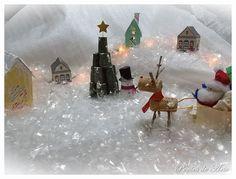 Poções de Arte: Projeto - Mini Vila de Natal.