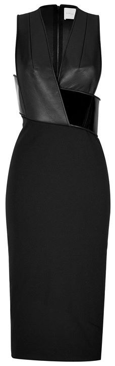 black sleeveless wrap top midi dress #workflow