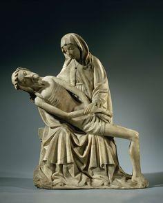 Pietà, Meester van Rimini, ca. 1450