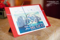 cabo mexico destination wedding invitation