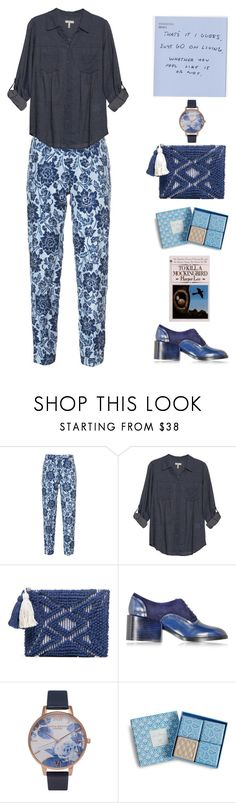 """Untitled #3050"" by lbenigni ❤ liked on Polyvore featuring Ermanno Scervino, Joie, Sole Society, Jil Sander, Olivia Burton and Vera Bradley"