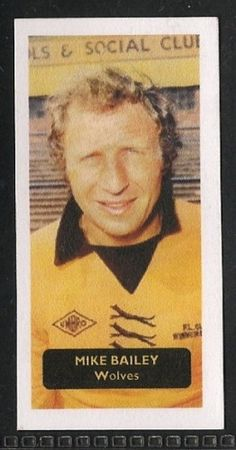 Wolverhampton Wanderers - Mike Bailey - Football cards - Year 2008 - Football League Stars, Series 1 football cards
