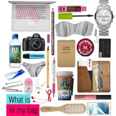"""What is in my bag 21/06/13"" by greatsunshine on Polyvore"