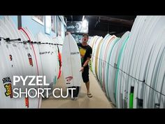 Trip Forman reviews the Pyzel Nugget Surfboard in the REAL Boardloft. Learn more: http://www.realwatersports.com/surfing/surfboards/pyzel-surfboards/nugget