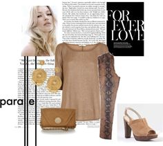 """""""Soft Animal print"""" by andichula on Polyvore"""