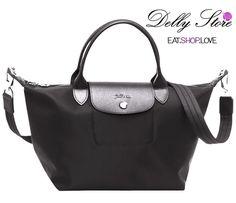 0c3465183be0 Longchamp 1512 1515 Le Pliage Neo Handbag Black Authentic New! | eBay Black  Handbags,