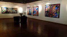 Exposition de Pioc PPC - Wolf Song Night Underground exhibition tour
