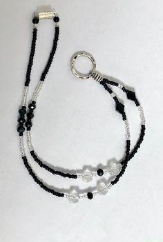 Beaded Lanyards, Eyeglass Holder, No Plastic, Fashion Face Mask, Jewelry Making Beads, Eyeglasses, Glass Beads, Badge, Money