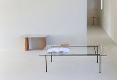2 Modern Glass Coffee Table, Corner Desk, Chair, Furniture, Home Decor, Sitting Rooms, Corner Table, Decoration Home, Room Decor