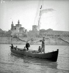 El paso del Ebro años 20   por GAZA - Gran Archivo Zaragoza Antigua