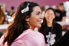Backstage Beauty at the 2016 Victoria's Secret Fashion Show: Models' Hair and Makeup — Once more, Kendall Jenner.