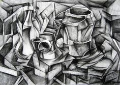 Cubism Drawing