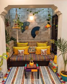 Bohemian Furniture Trends for 2020 India Home Decor, Ethnic Home Decor, Home Decor Furniture, Home Decor Bedroom, Living Room Decor, Bohemian Furniture, Living Rooms, Indian Room Decor, Deco Boheme Chic