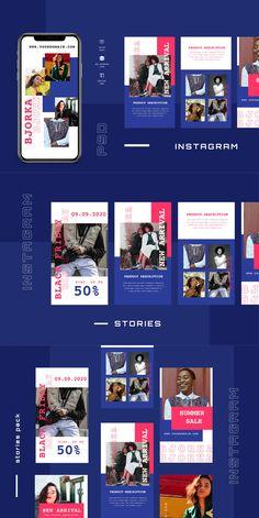 Ten - Instagram Stories Template - Social Media Kit PSD Social Media Template, Social Media Design, Social Media Graphics, Social Media Poster, Instagram Story Template, Instagram Story Ideas, Creative Banners, Instagram Banner, Creative Poster Design