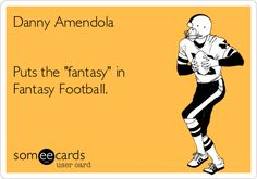 Danny Amendola Puts the 'fantasy' in Fantasy Football.