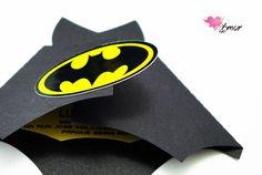 Convite Infantil - Morcego do Batman
