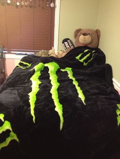 Monster Energy Blanket | via tyler clark