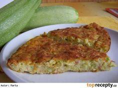 Nádivka z cukety nebo z patisonu Quiche, Zucchini, Vegetables, Breakfast, Food, Kitchen, Morning Coffee, Cooking, Essen