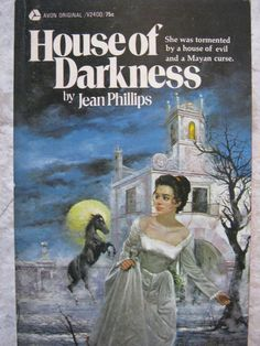 VINTAGE 1971 GOTHIC ROMANCE MYSTERY JEAN PHILLIPS HOUSE OF DARKNESS