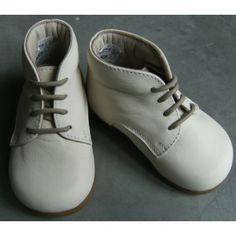 Chaussures montantes premiers pas vanille [Pèpè]