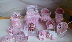 Dolls House Miniature OOAK Baby Nursery by HELENSOOAKMINIATURES, £150.00