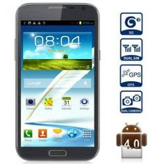 This phone will only work with GSM+WCDMA network  GSM 850/900/1800/1900 WCDMA 2100MHz.  Unlocked for Worldwide use, please check if your local area network is compatible with this phone    Main Features  Type: Phablet  Color: Grey  OS: Android 4.0  CPU: Media Tek MTK6577 Dual Core 1GHz  ROM: 4GB  ...Click on Picture to go to Store