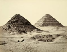 Photos of ancient Egyptian monuments, taken in the late 19th - early 20th century.
