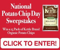 Tri Cities On A Dime: NATIONAL POTATO CHIP DAY SWEEPSTAKES