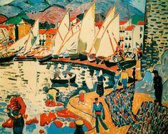 Andre Derain, Le séchagedes voiles (1905)