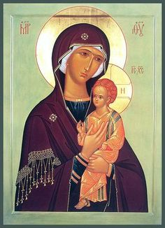 Icon of the Mother of God of Pimen - Orthodox Church in America