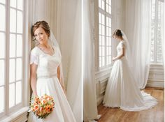 So happy to see more wedding dresses with sleeves/tops, strapless wedding dresses are less flattering!