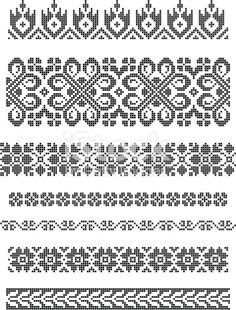 Thrilling Designing Your Own Cross Stitch Embroidery Patterns Ideas. Exhilarating Designing Your Own Cross Stitch Embroidery Patterns Ideas. Border Embroidery, Machine Embroidery Patterns, Cross Stitch Embroidery, Embroidery Designs, Hand Embroidery, Floral Embroidery, Fair Isle Knitting Patterns, Knitting Charts, Knitting Stitches
