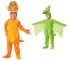 dinosaur train costumes!