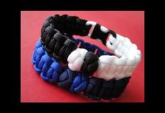 How to Make two Diamonds 'Yin Yang Themed' Paracord Survival Bracelet