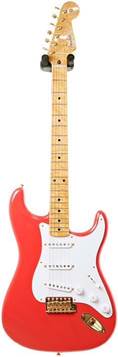 Fender Custom Shop Early 59 NOS Stratocaster Fiesta Red MN Master Builder Designed by Greg Fessler #R80587 Main Product Image