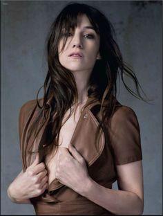 Charlotte Gainsbourg par Kate Barry / H&K pour L'Express Styles (22 janvier 2014)