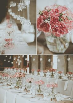 Coral colour flowers @ Christoff & Cornelia's wedding - stunning photo's by Blackframe Photography, Decor by Love & Grace done at Imperfect Perfection wedding venue. Coral Colour, Color, Wedding Venues, Im Not Perfect, Table Decorations, Flowers, Photography, Home Decor, Wedding Reception Venues