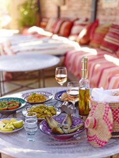 Lunch at El-Fenn