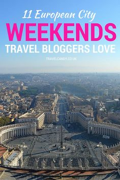 For the ultimate city break inspiration, and to help you find the perfect city weekend, I've asked 11 top travel bloggers which European cities they'd go back to again and again. Click through now to see what they said, plus discover their top tip for visiting their sweetheart European city!