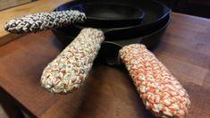 Cotton Crochet Cast Iron Skillet Handles