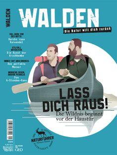 WALDEN. New German Outdoor Magazine for Men. 2015